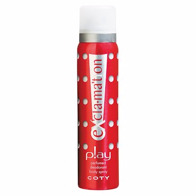 COTY EXCLAMATION DEO SPRAY PLAY 90ML