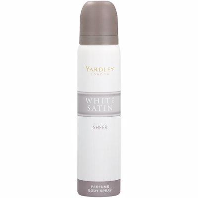 YARDLEY BODY SPRAY WHITE SATIN SHEER 90ML