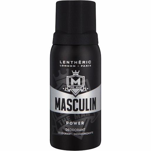 LENTH MASCULIN DEO POWER 150ML