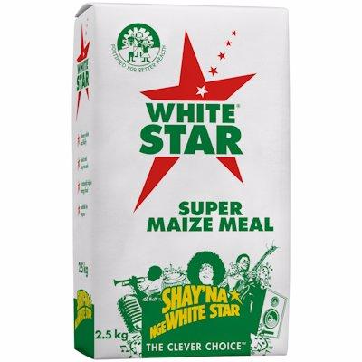 W/STAR SUPER MAIZE MEAL 2.5KG
