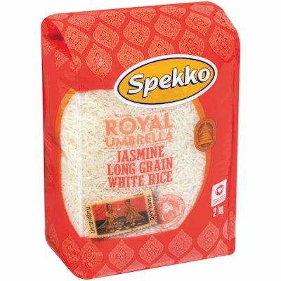 SPEKKO JASMINE LANG GRAIN WHITE RICE 2KG