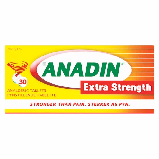 ANADIN TABS EXT/STRENGTH 30'S