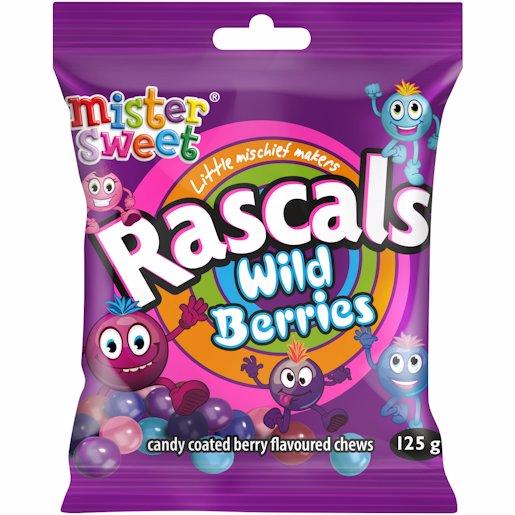 MS RASCALS WILD BERRIES 125GR