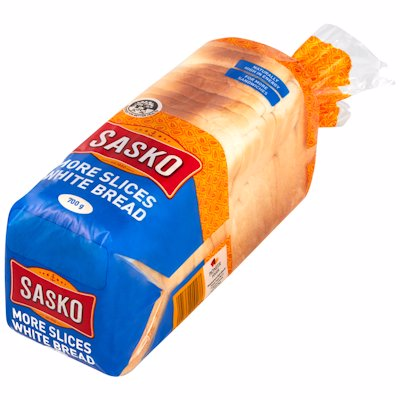 SASKO WHITE BREAD STD 700GR