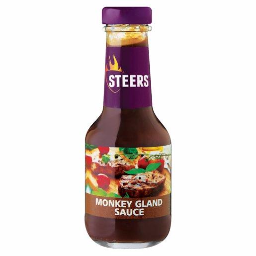STEERS SAUCE MONKEY GLAND 375ML