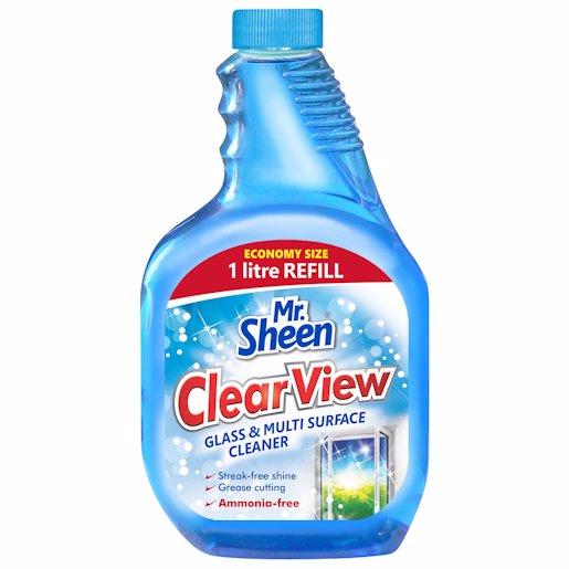 MR SHEEN GLASS&M/S CL REF 1LT