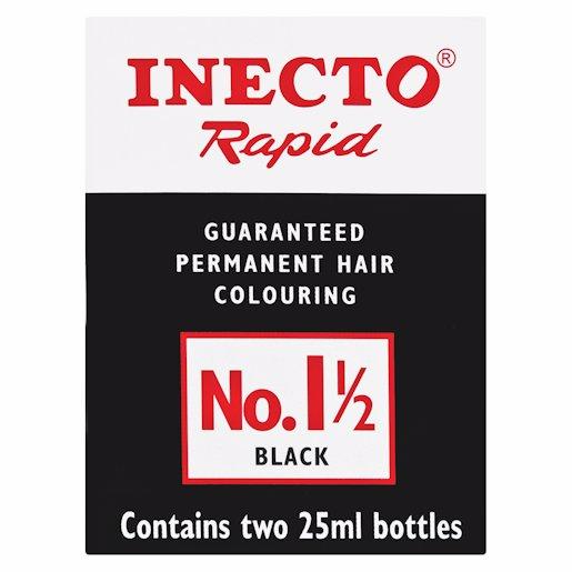 INECTO RAPID NO 1.5 BLACK 25ML