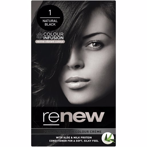 RENEW COLOUR NAT BLACK 50ML