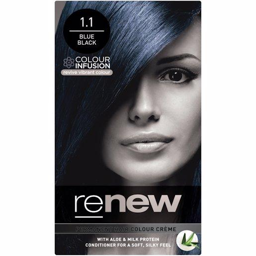 RENEW COLOUR BLUE BLACK 50ML