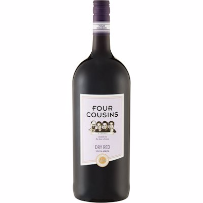 FOUR COUSINS DRY RED 1.5L