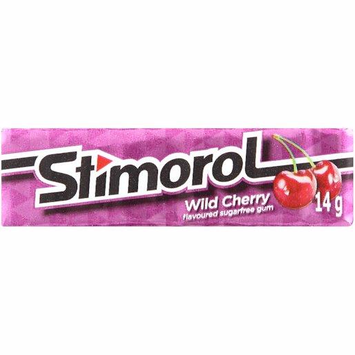 STIMOROL GUM WILD CHEERY 10'S