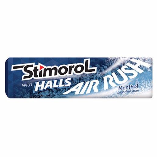STIMOROL GUM MENTHOL 10'S