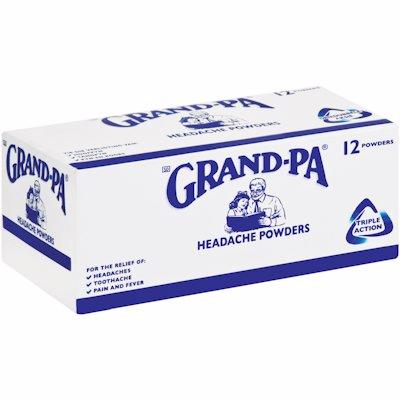 GRANDPA POWDER 12'S