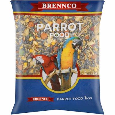 BRENNCO PARROT FOOD 1KG