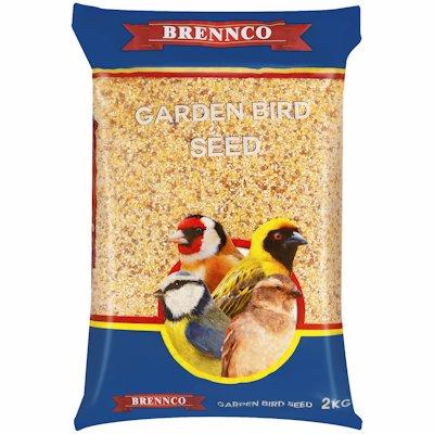 BRENNCO GARDEN BIRD SEED 2KG 2KG