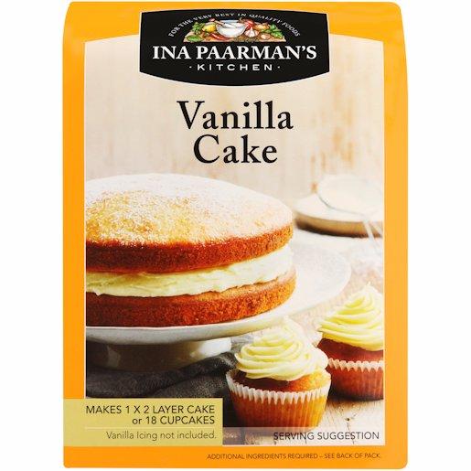 I PAARMAN VANILLA CAKE 600G