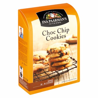 INA PAARMAN'S CHOC CHIP COOKIES MIX 390G