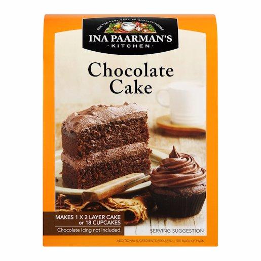 PAARMAN CHOCOLATE CAKE MIX 650G