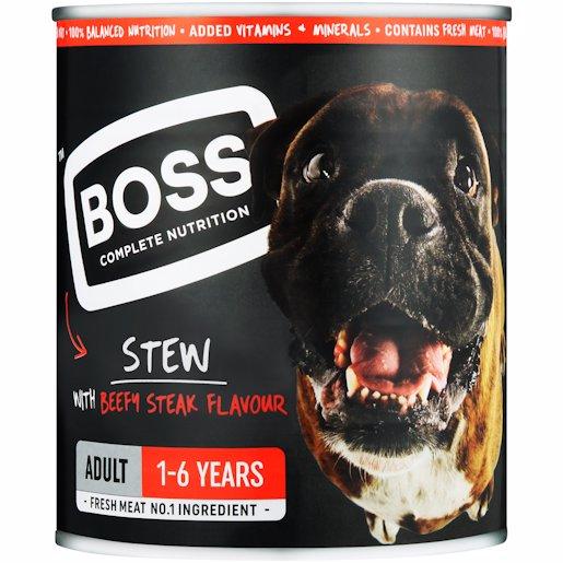 BOSS CLS ADULT STEW STEAK 775GR