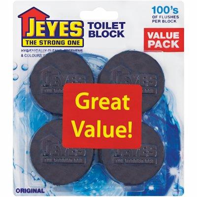 JEYES TOILET BLOCK ORIGIN 4'S
