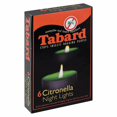 TABARD NIGHT CANDLES 6'S