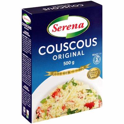 SERENA D/WHT COUSCOUS MED 500GR