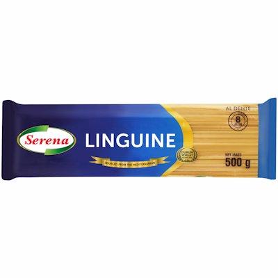 SERENA D/WHT LINGUINE PASTA 500G