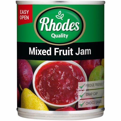 RHODES MIXED FRUIT JAM 450G