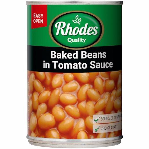 RHODES BAKED BEAN TOM SCE 410GR