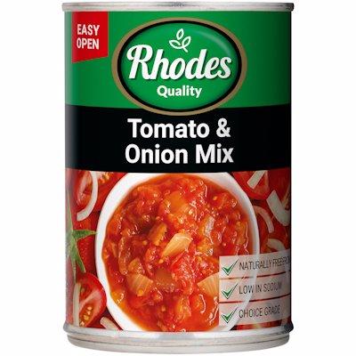 RHODES TOM & ONION MIX 410GR
