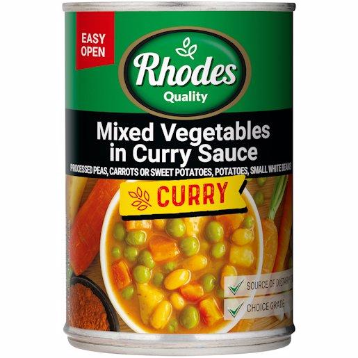 RHODES VEG CURRY 410GR