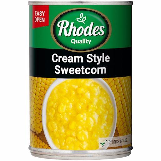 RHODES CRMSTYLE SWEETCORN 420G