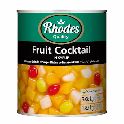 RHODES FRUIT COCKTAIL IN SYRUP 825G