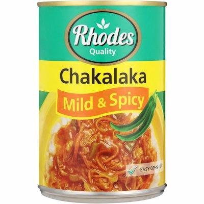 RHODES CHAKA MILD&SPICY 400GR