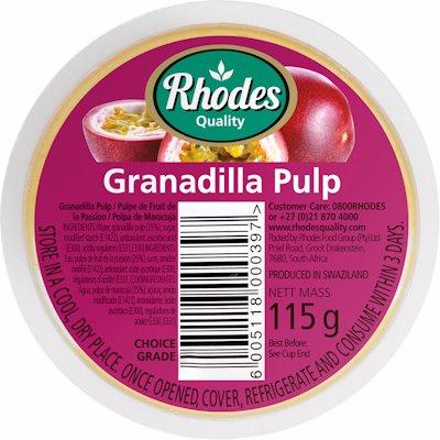 RHODES GRANADILLA PULP 115GR