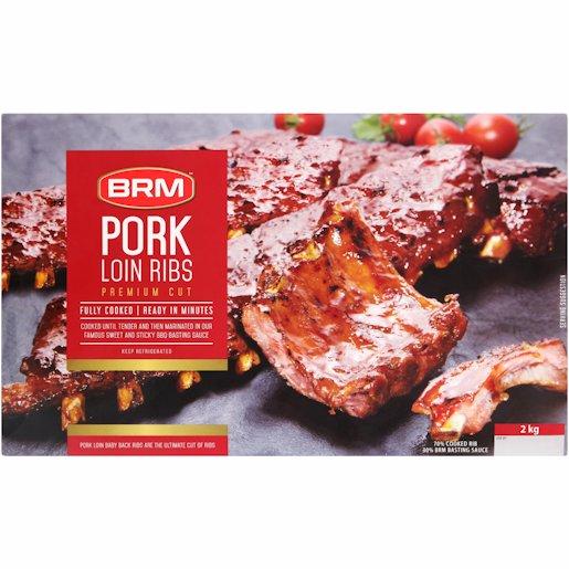 BRM PORK LOIN RIBS BBQ 2 KG 2KG