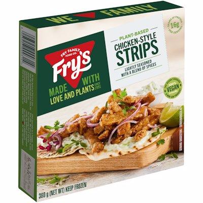 FRY'S MEAT FREE CHICKEN-STYLE STRIPS VEGAN 380G