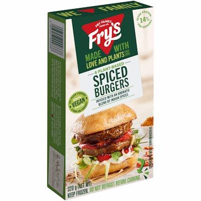 FRYS SPICED BURGER 320GR