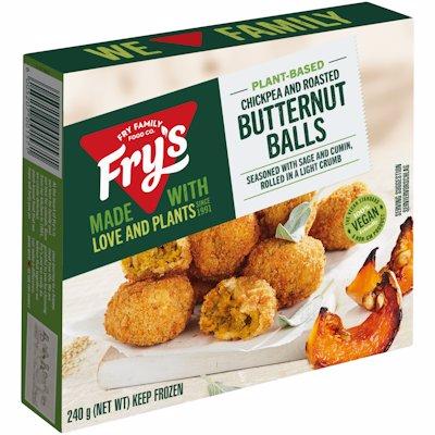 FRY'S BUTTERNUT BALLS VEGAN 240GR