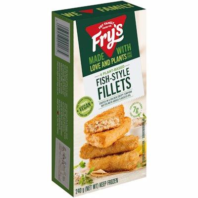 FRY'S FISH-STYLE FILLETS VEGAN 240GR