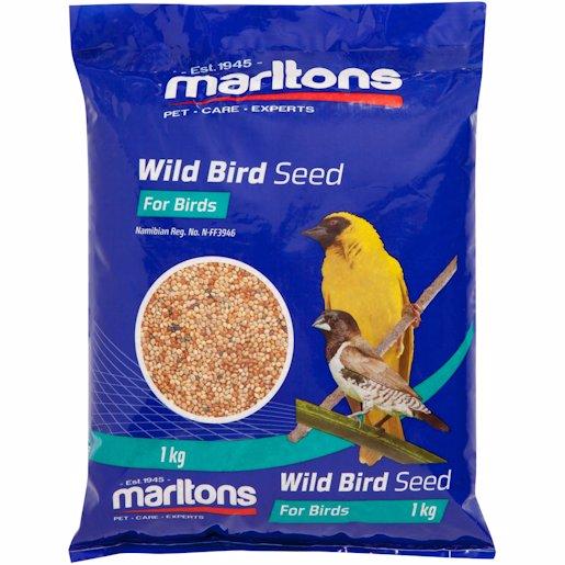 M/TONS WILD BIRD SEED 1KG