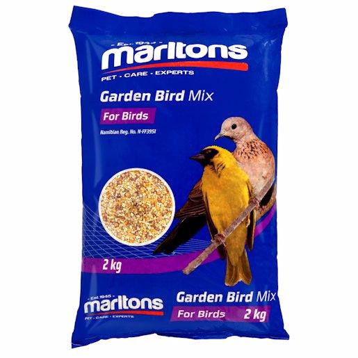 M/TONS GARDEN BIRD SEED 2KG