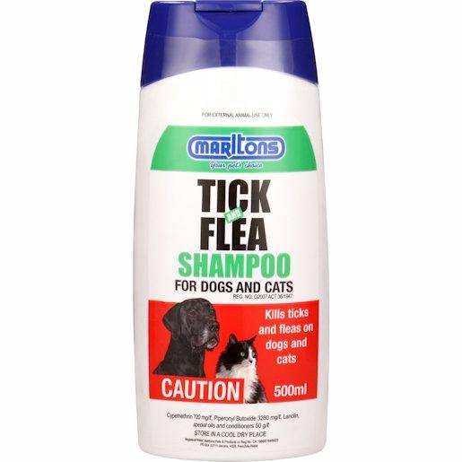 MARLTONS TICK& FLEA SHAMP 500ML