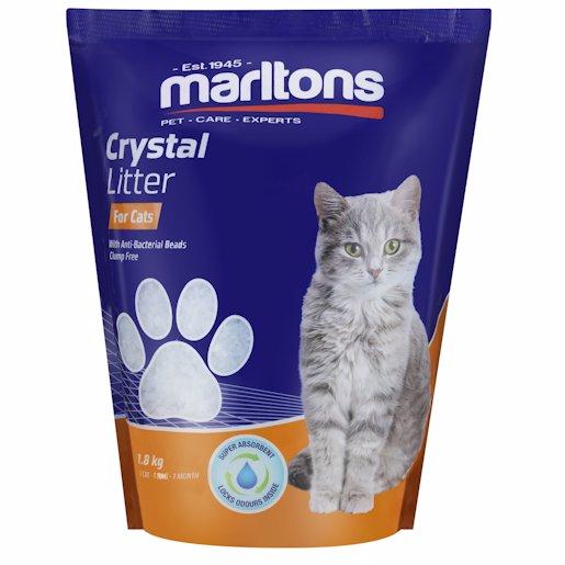 MARLTONS CAT LITT CRYSTAL 1.8KG