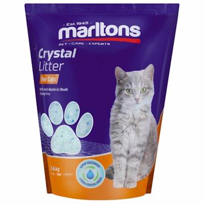 MARLTONS CAT LITTER CRYSTAL 3.6KG