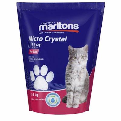 MARLTONS CATLITR CRYSTAL 1.5KG
