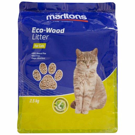 ECO CAT - CAT LITTER PELLETS 2.5KG