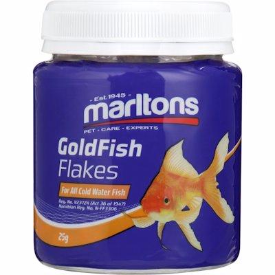 MARLTONS G/FISH FLAKES 25G