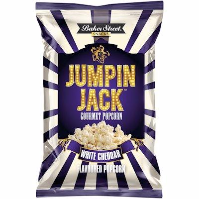 JUMPING JACK POPCORN WHITE CHEDDAR 100G