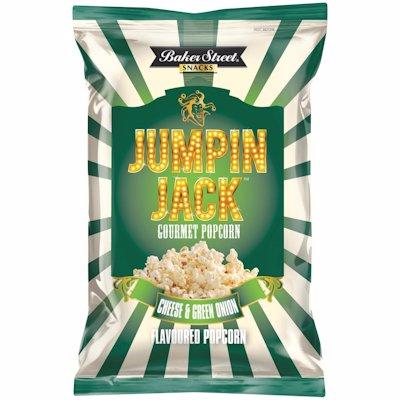 JUMPING JACK POPCORN CHEDDAR & GREEN ONION 100G